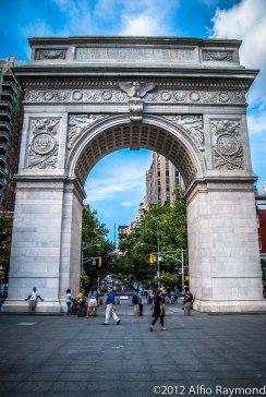 Washington's Arch in New York City